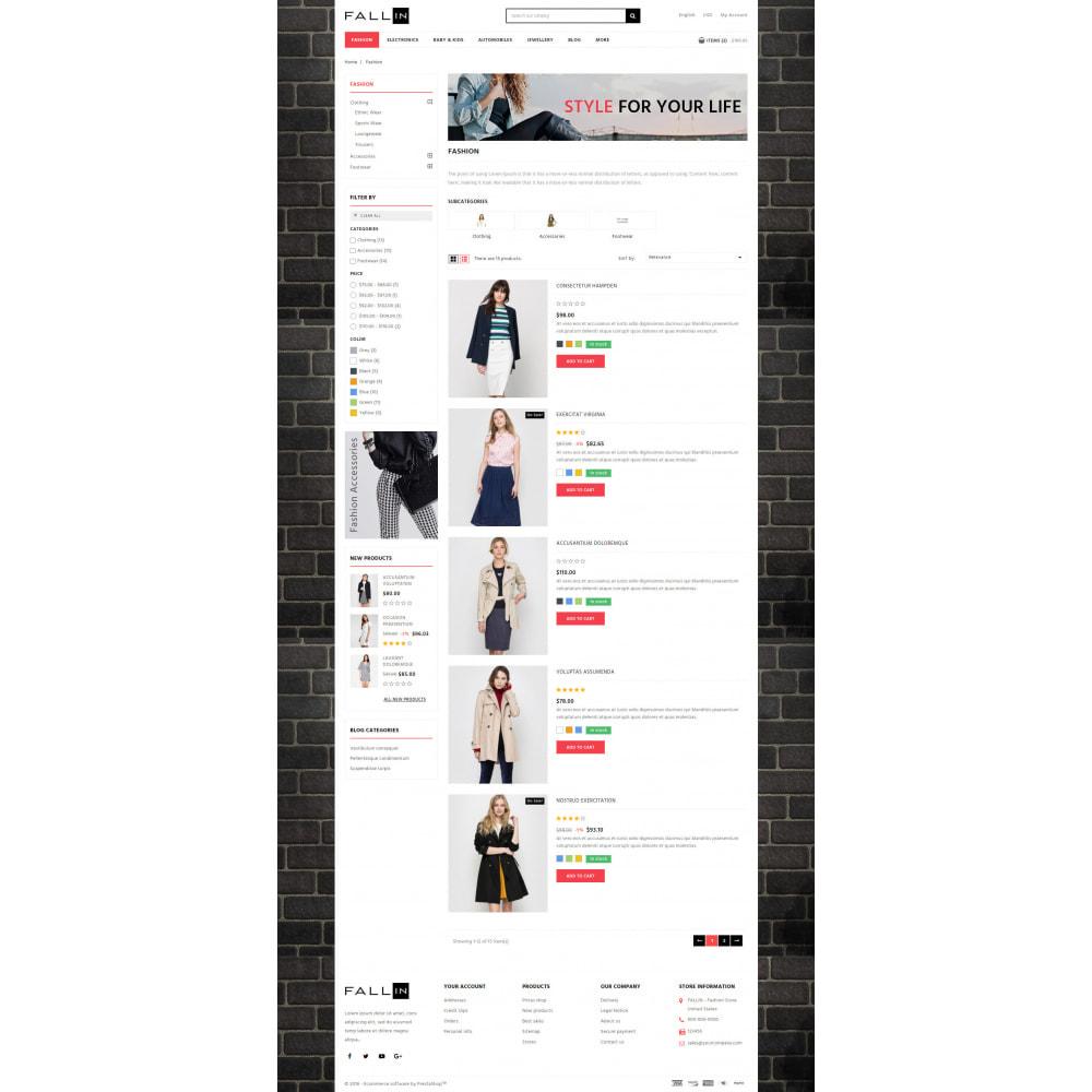 theme - Fashion & Shoes - Fallin - Apparel Store - 4