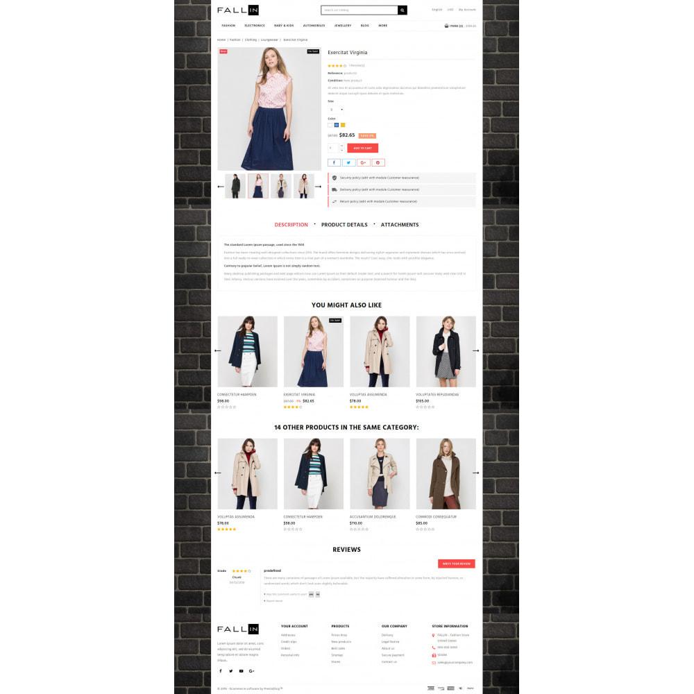 theme - Fashion & Shoes - Fallin - Apparel Store - 5