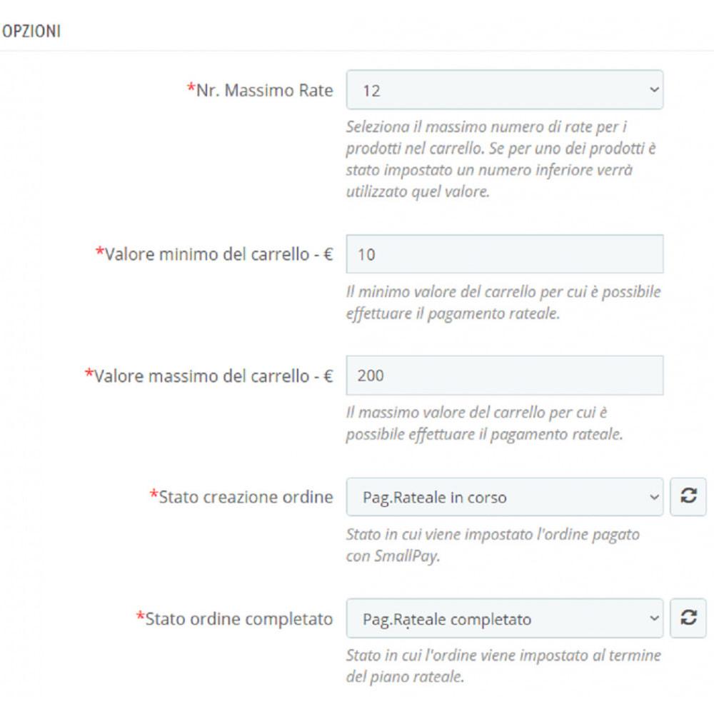 module - Altri Metodi di Pagamento - XPay - Pagamento rateizzato - 3