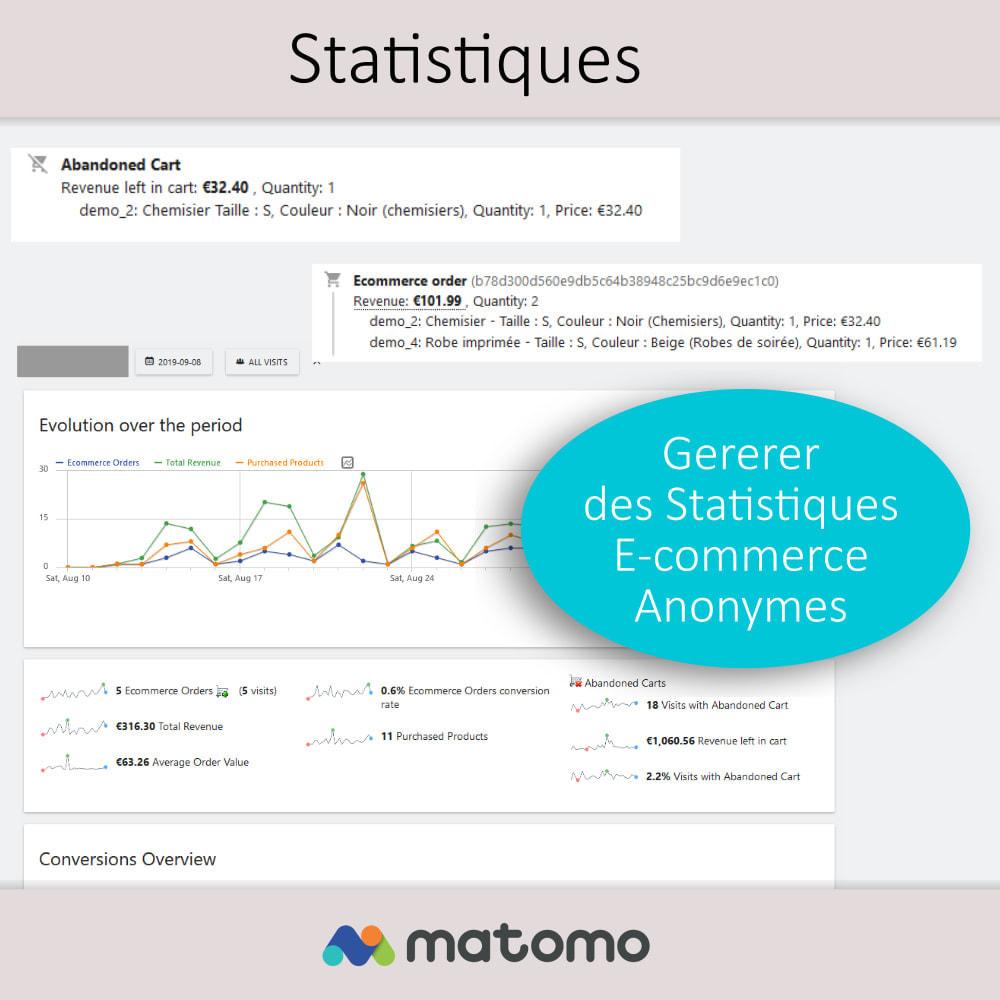 module - Analyses & Statistiques - Matomo Analytics Pro - Conforme RGPD - 8