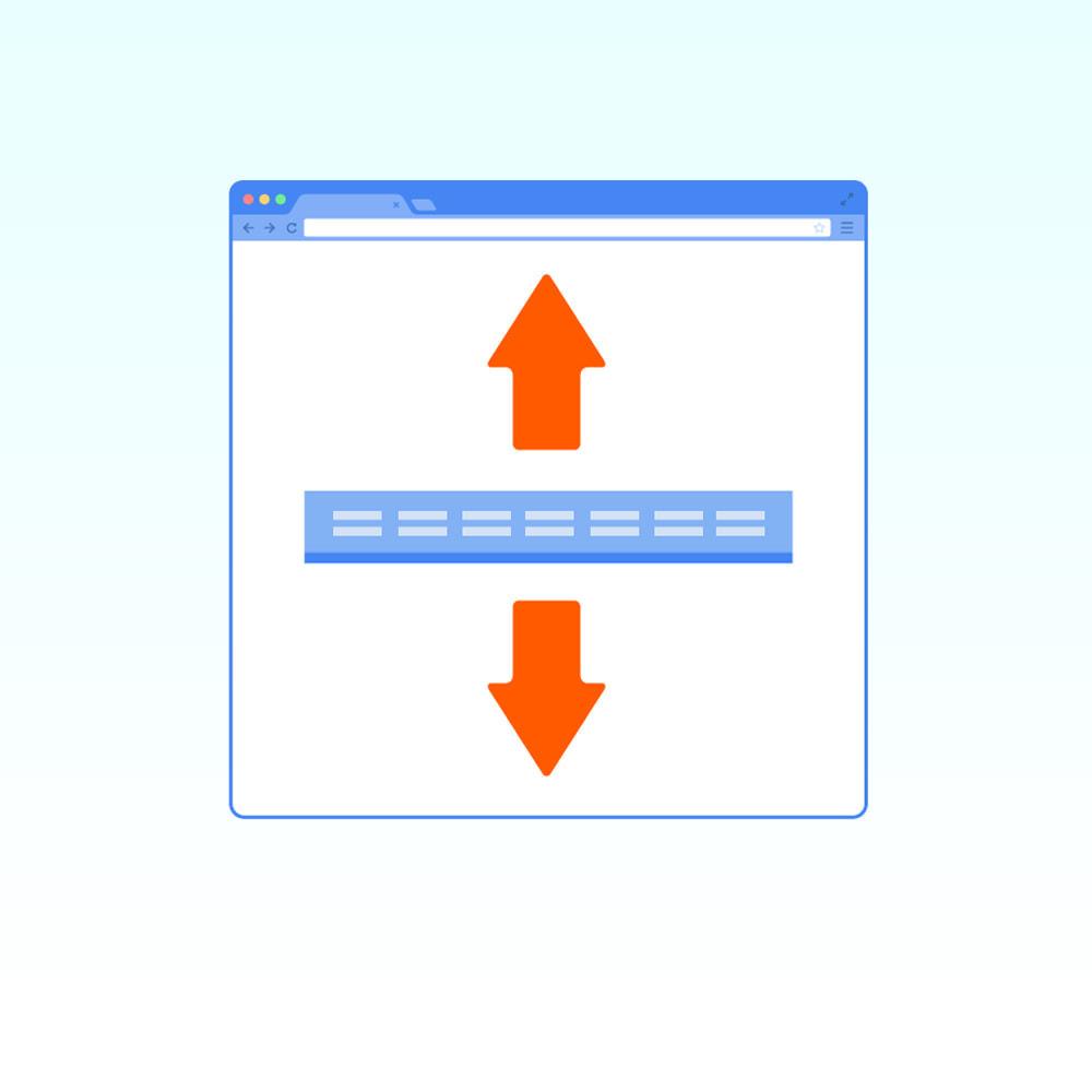 module - Menú - Menú horizontal fijo (flotante) - 1