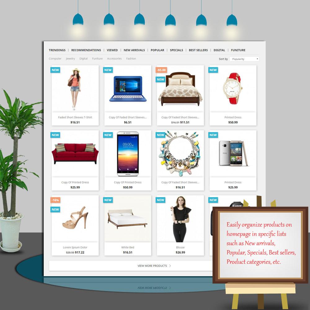 module - Gestão dos Produtos na Página Inicial - Home Products PRO - 3