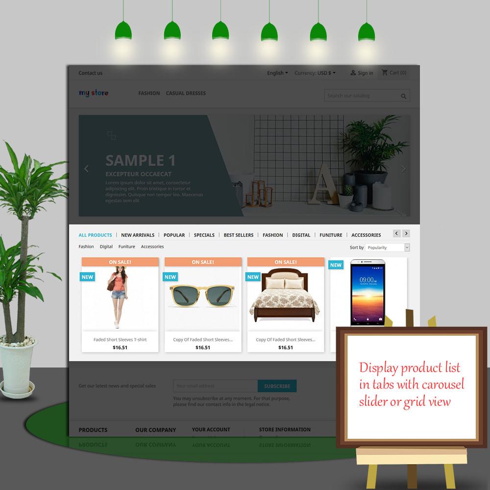 module - Gestão dos Produtos na Página Inicial - Home Products PRO - 5