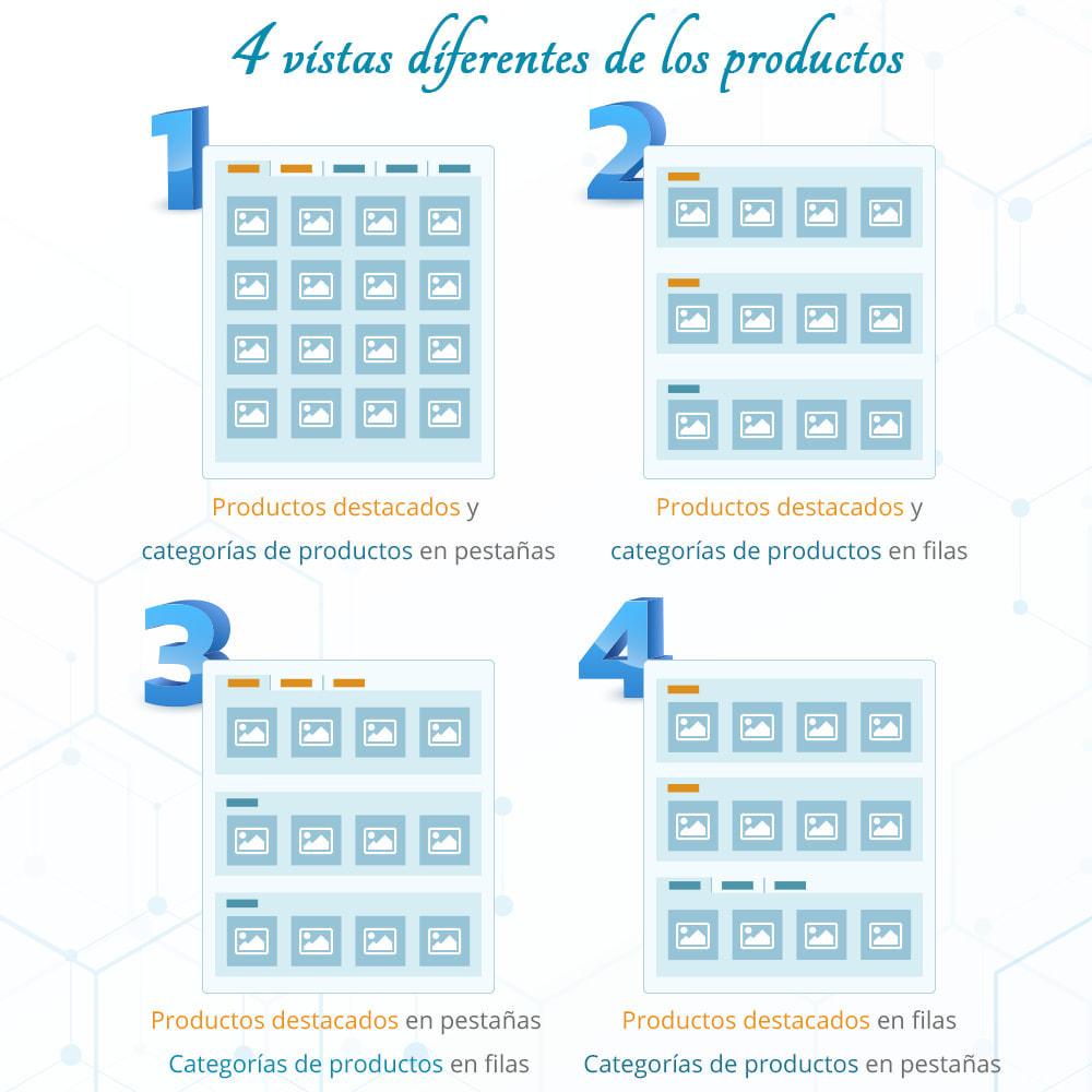 module - Productos en la página de inicio - Home Products PRO - Lista de producto personalizable - 2