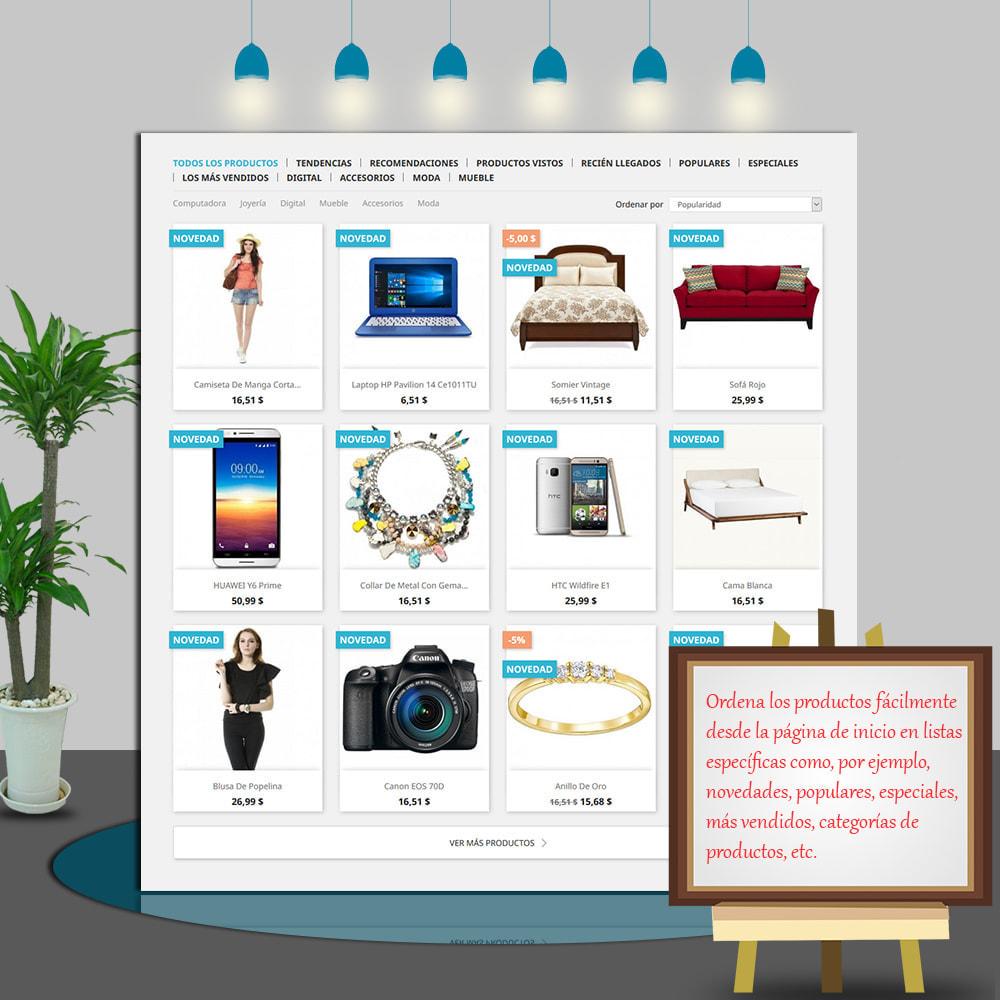 module - Productos en la página de inicio - Home Products PRO - Lista de producto personalizable - 3