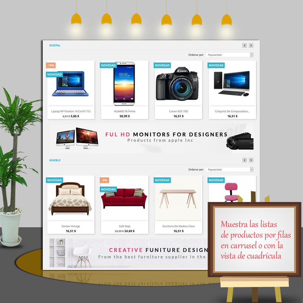 module - Productos en la página de inicio - Home Products PRO - Lista de producto personalizable - 4