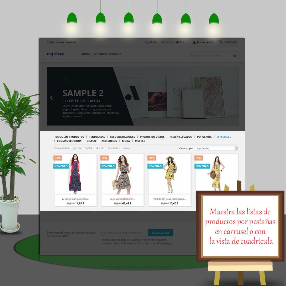 module - Productos en la página de inicio - Home Products PRO - Lista de producto personalizable - 5