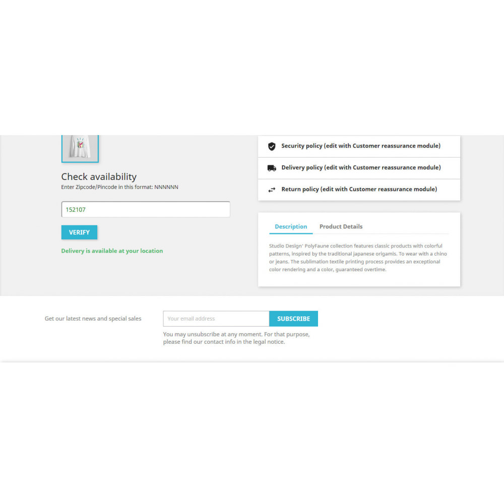 module - Corrieri - Pincode Validation - 4