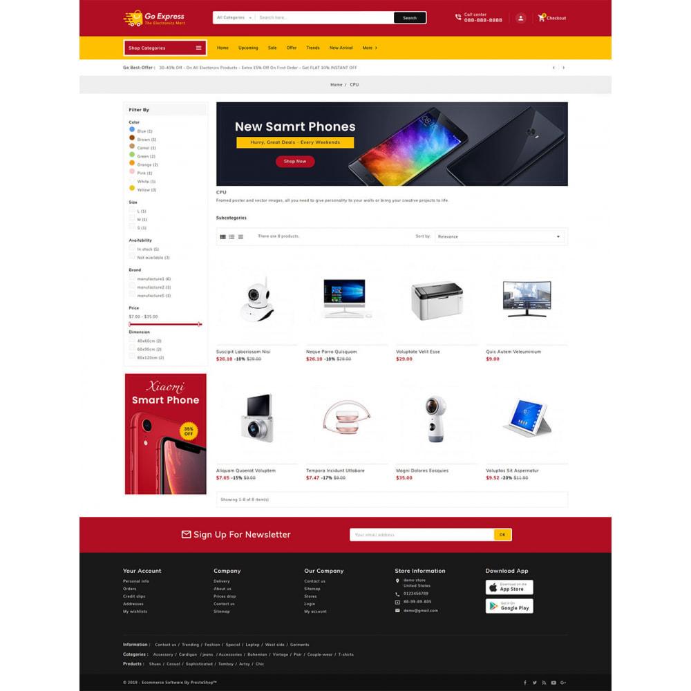 theme - Elektronika & High Tech - Go Express - Multi Purpose Mega Store - 22