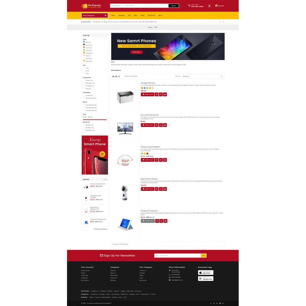 theme - Elektronika & High Tech - Go Express - Multi Purpose Mega Store - 23