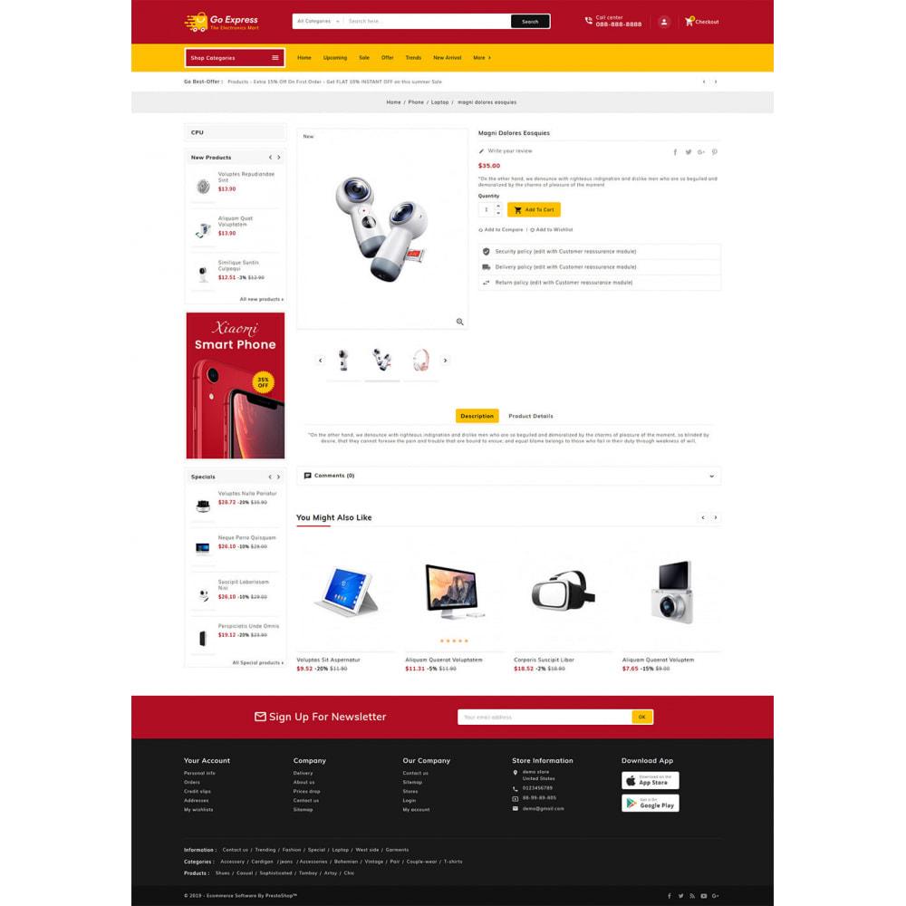 theme - Elektronika & High Tech - Go Express - Multi Purpose Mega Store - 24