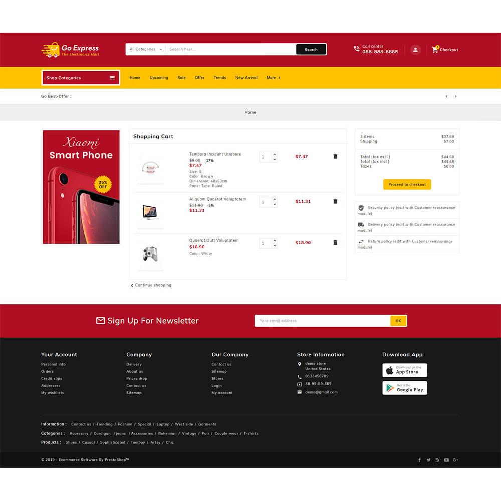 theme - Elektronika & High Tech - Go Express - Multi Purpose Mega Store - 25