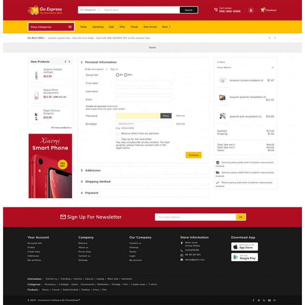 theme - Elektronika & High Tech - Go Express - Multi Purpose Mega Store - 26