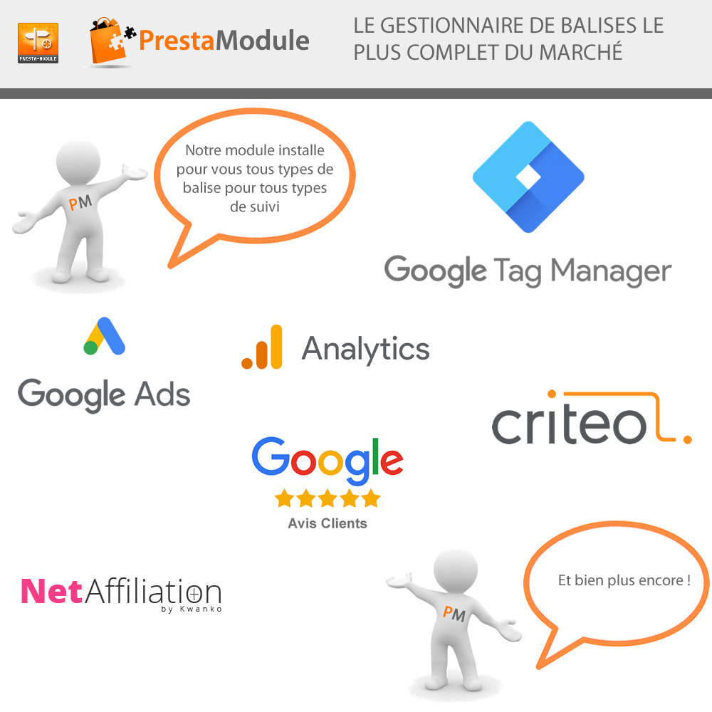 module - Remarketing & Paniers Abandonnés - Advanced Tracking Wizard & Google Tag Manager - 2