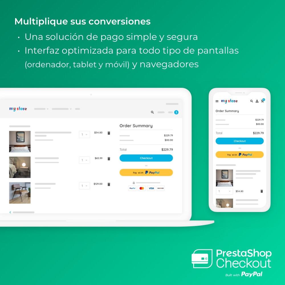 module - Pago con Tarjeta o Carteras digitales - PrestaShop Checkout built with PayPal - 2