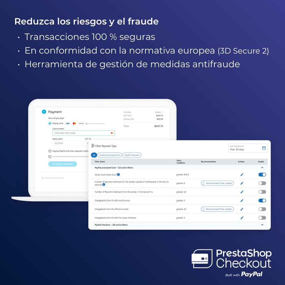module - Pago con Tarjeta o Carteras digitales - PrestaShop Checkout built with PayPal - 4