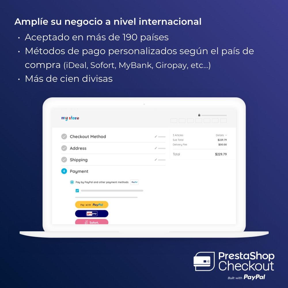 module - Pago con Tarjeta o Carteras digitales - PrestaShop Checkout built with PayPal - 6