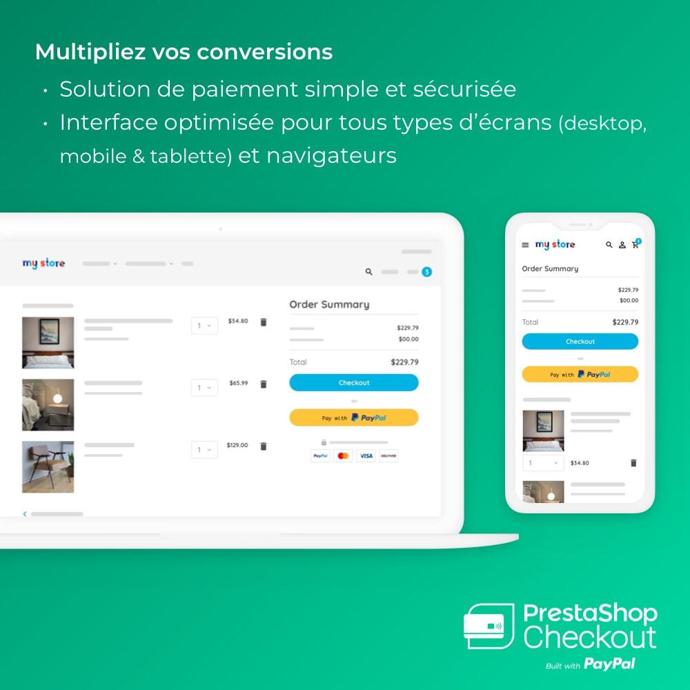 module - Paiement par Carte ou Wallet - PrestaShop Checkout built with PayPal - 2