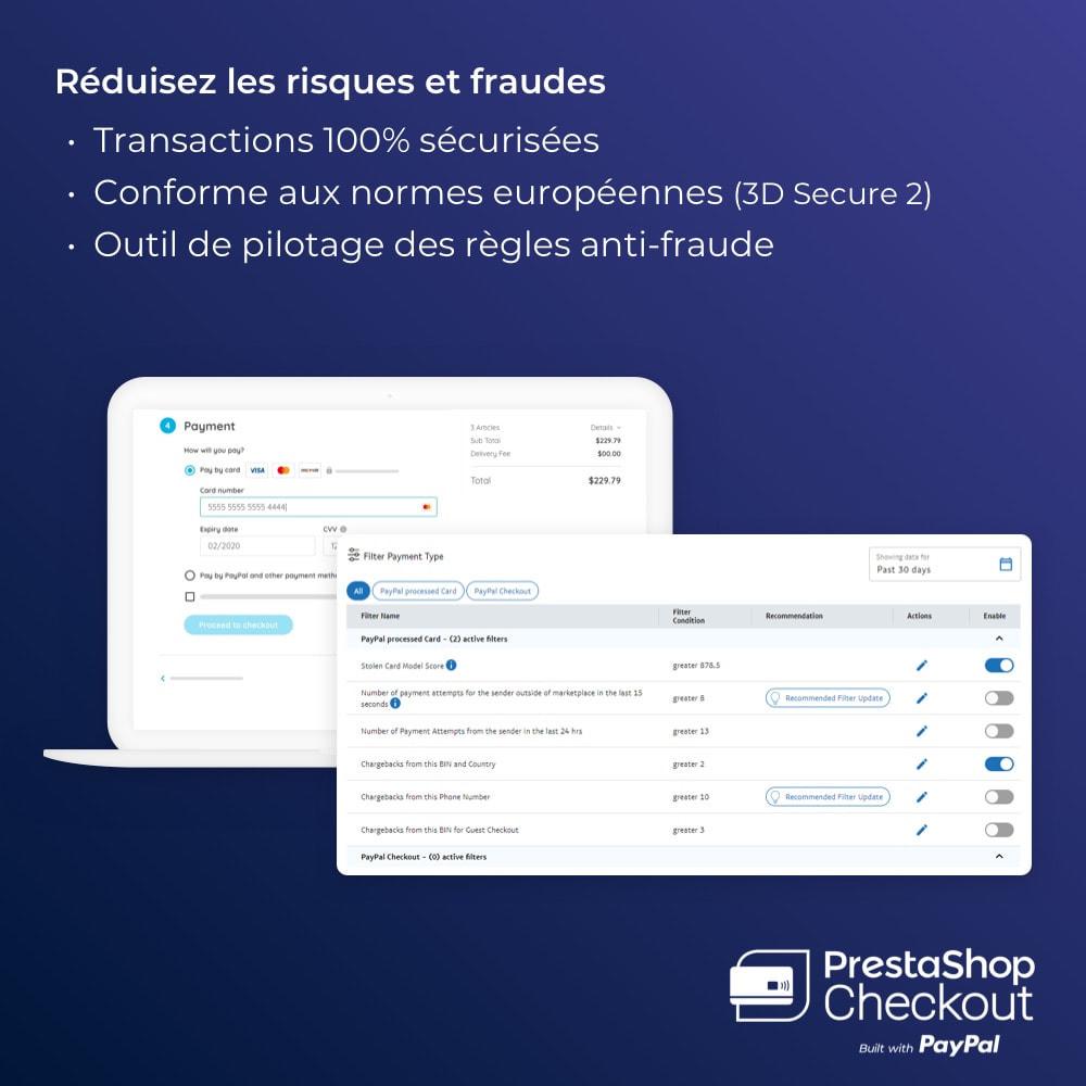 module - Paiement par Carte ou Wallet - PrestaShop Checkout built with PayPal - 4