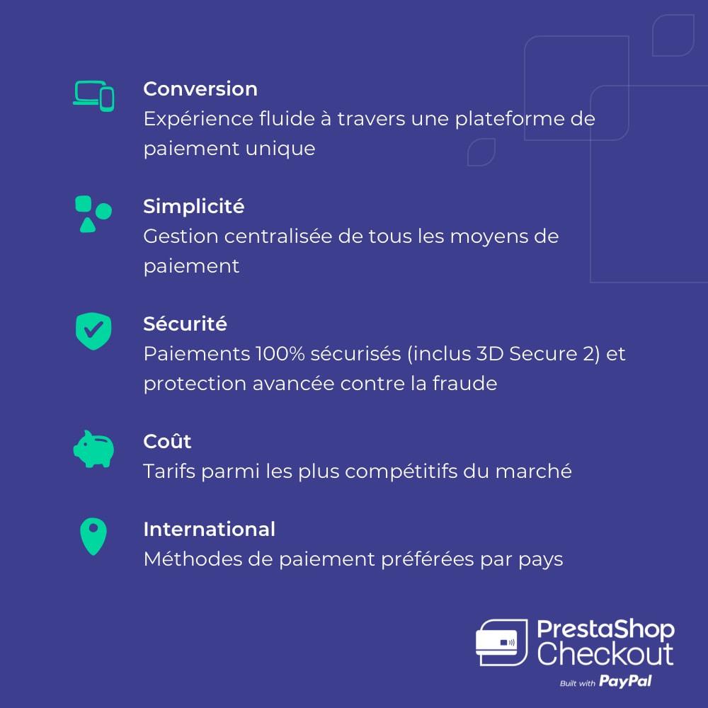 module - Paiement par Carte ou Wallet - PrestaShop Checkout built with PayPal - 9