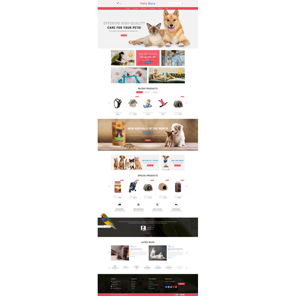 theme - Animaux - Pets Care - Animals Store - 2