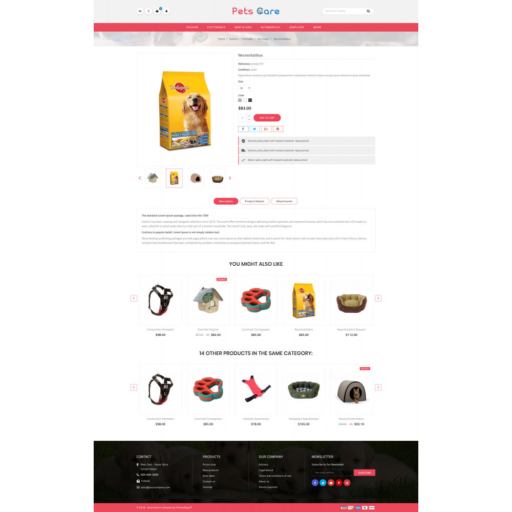 theme - Animaux - Pets Care - Animals Store - 5