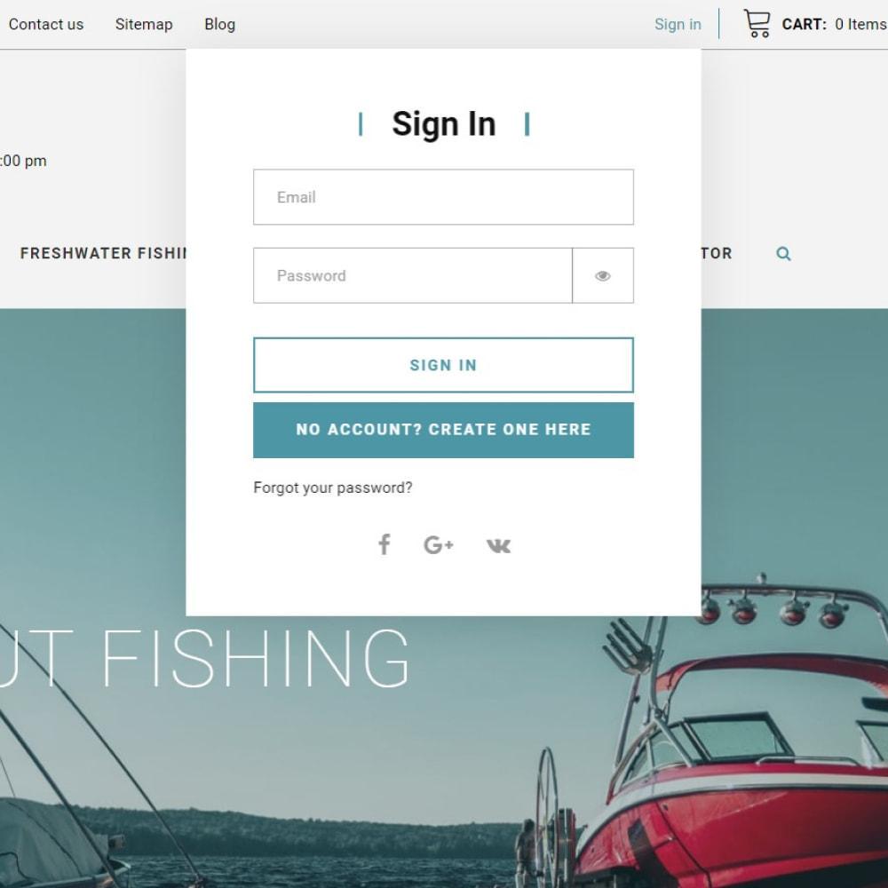 theme - Спорт и Путешествия - GoldBoat - Fishing Shop - 7
