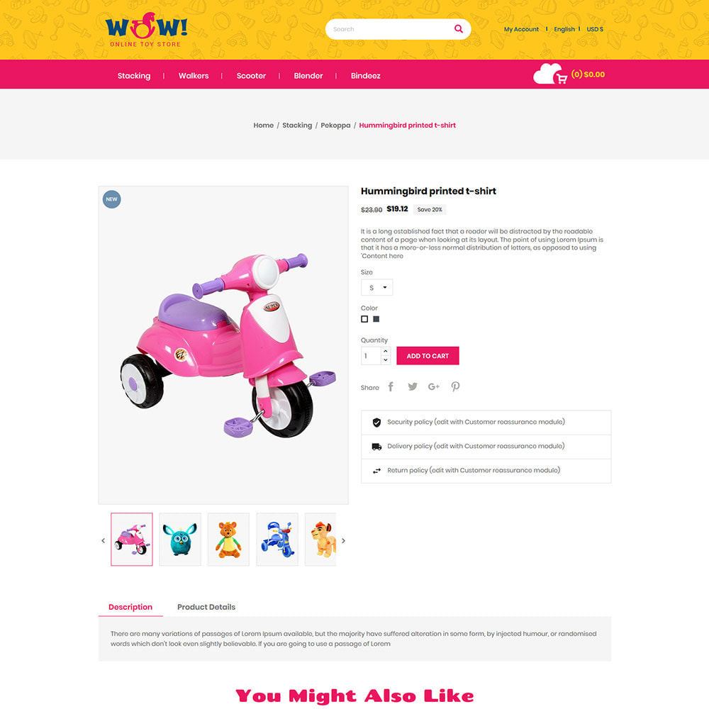 theme - Kids & Toys - Wow Kids - Toys Baby Games Station Store - 5