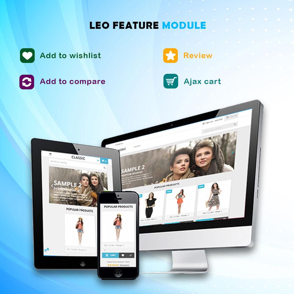 module - Diversificação & Personalização de Produtos - Leo Feature Multipurpose - 1