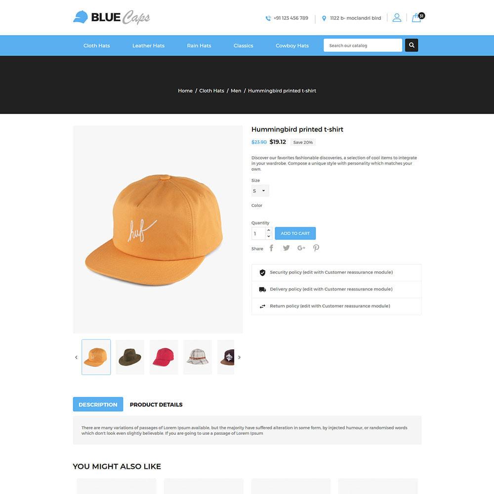theme - Moda & Calçados - Blue Caps  - Fashion Accessories Hats Store - 5