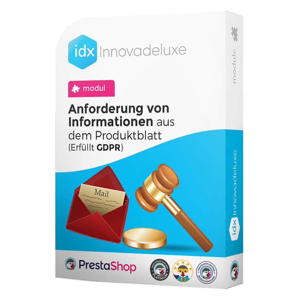 module - Rechtssicherheit - Kontaktformular aus dem Produktblatt - 1