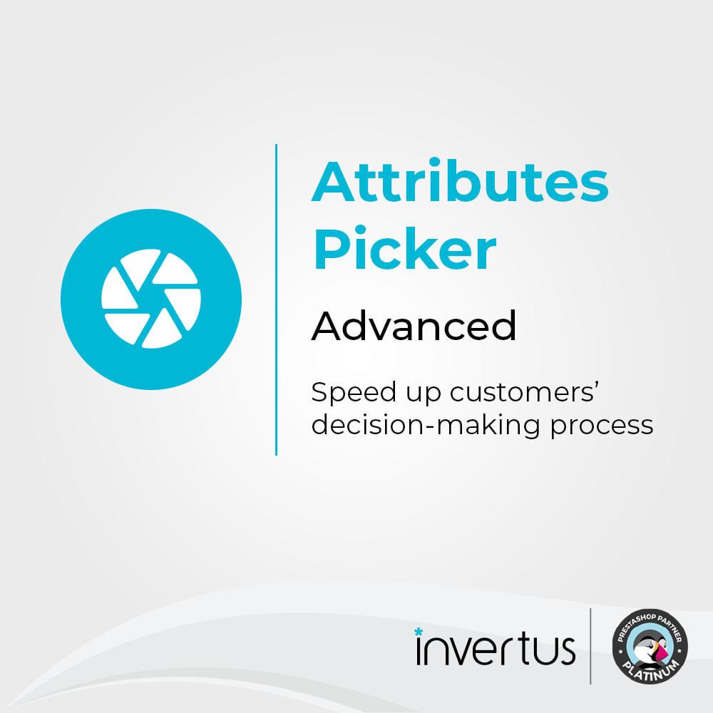 module - Déclinaisons & Personnalisation de produits - Attributes Picker Advanced - Pour le produit - 1
