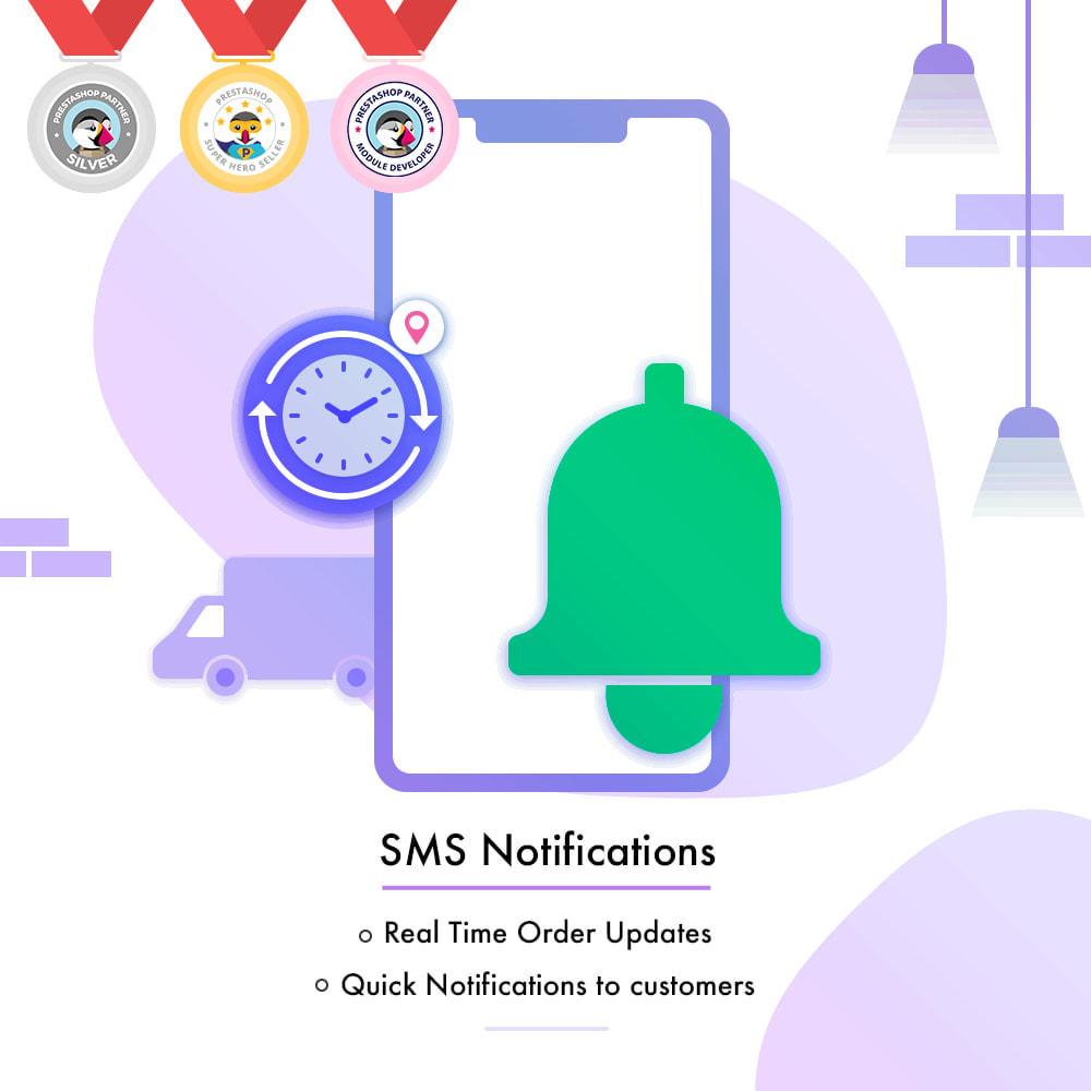 module - Boletim informativo & SMS - SMS Notification | Real Time Order Updates - 1