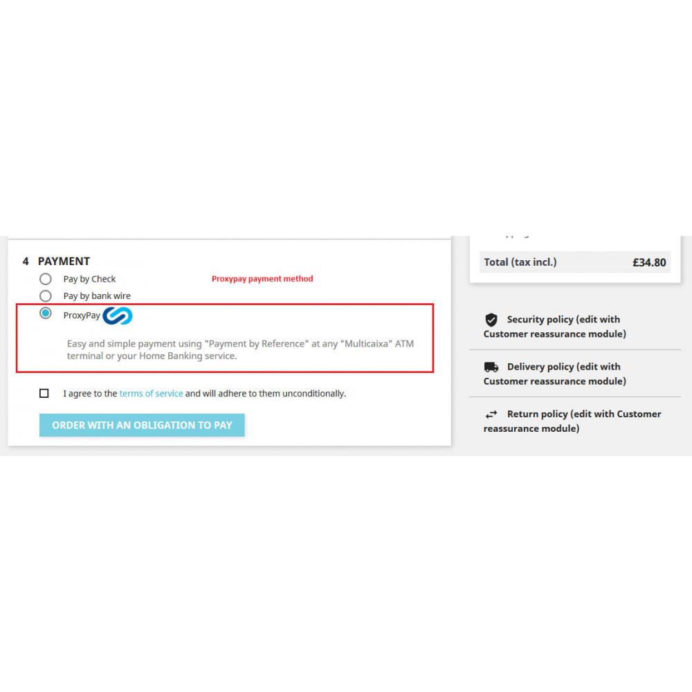 module - Zahlung per Kreditkarte oder Wallet - ProxyPay Multicaixa Integration - 4