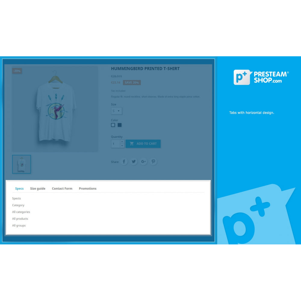 module - Altre informazioni & Product Tab - Product Extra Tabs - Tabs additional information - 3