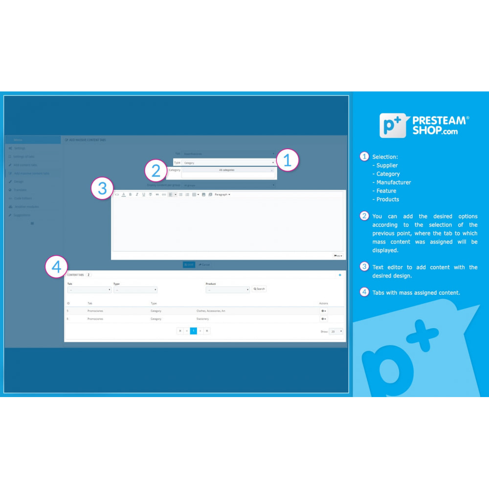 module - Altre informazioni & Product Tab - Product Extra Tabs - Tabs additional information - 11