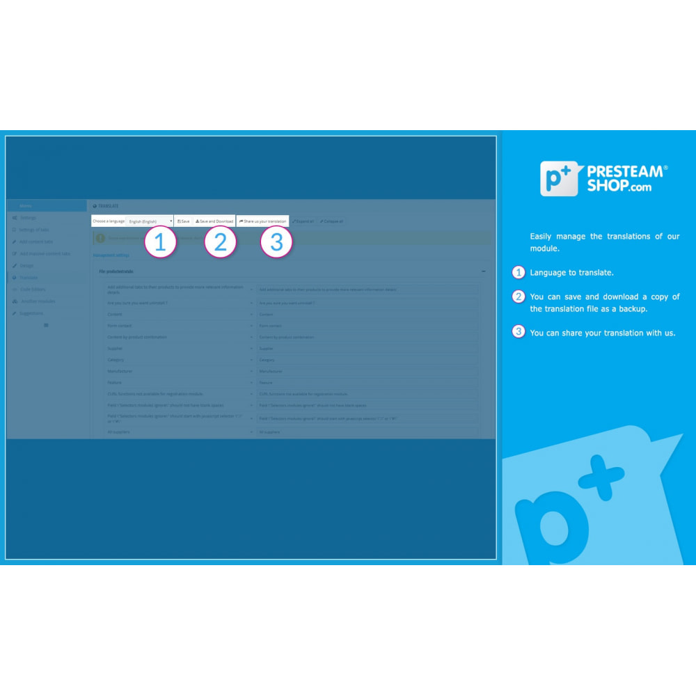 module - Altre informazioni & Product Tab - Product Extra Tabs - Tabs additional information - 13