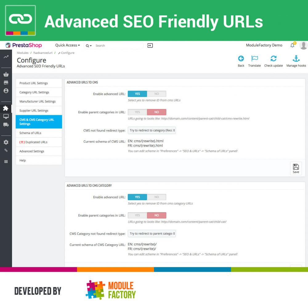 module - Управления адресами URL и перенаправлением - Advanced SEO Friendly URLs - 5