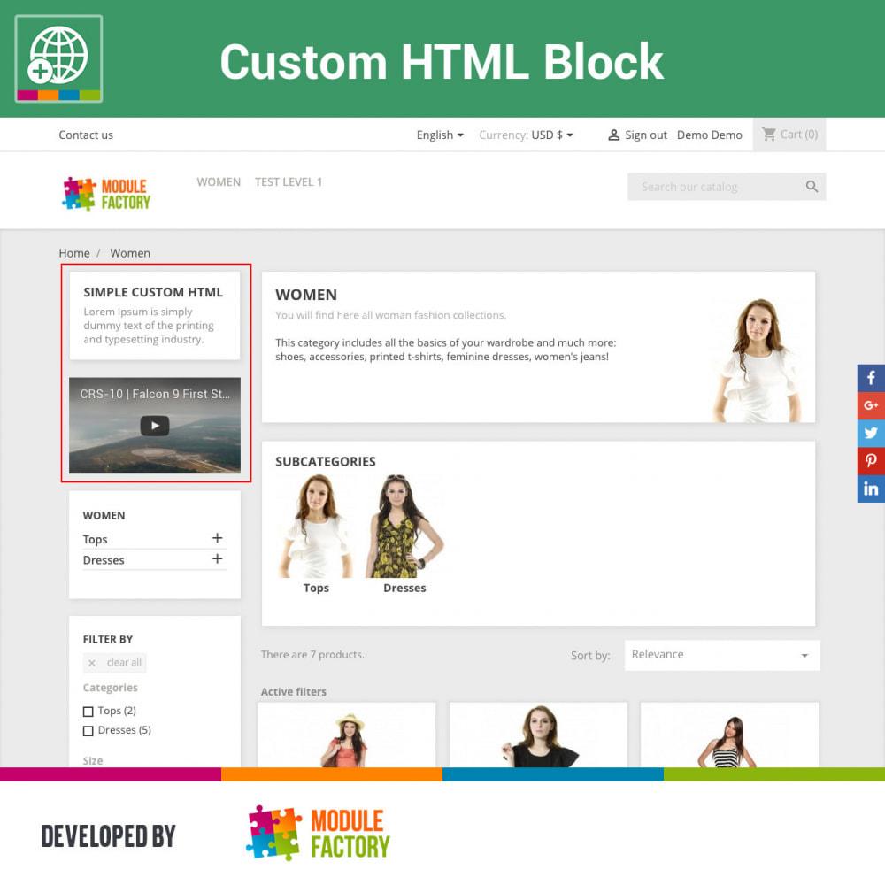 module - Blocks, Tabs & Banners - Custom HTML Block - 2