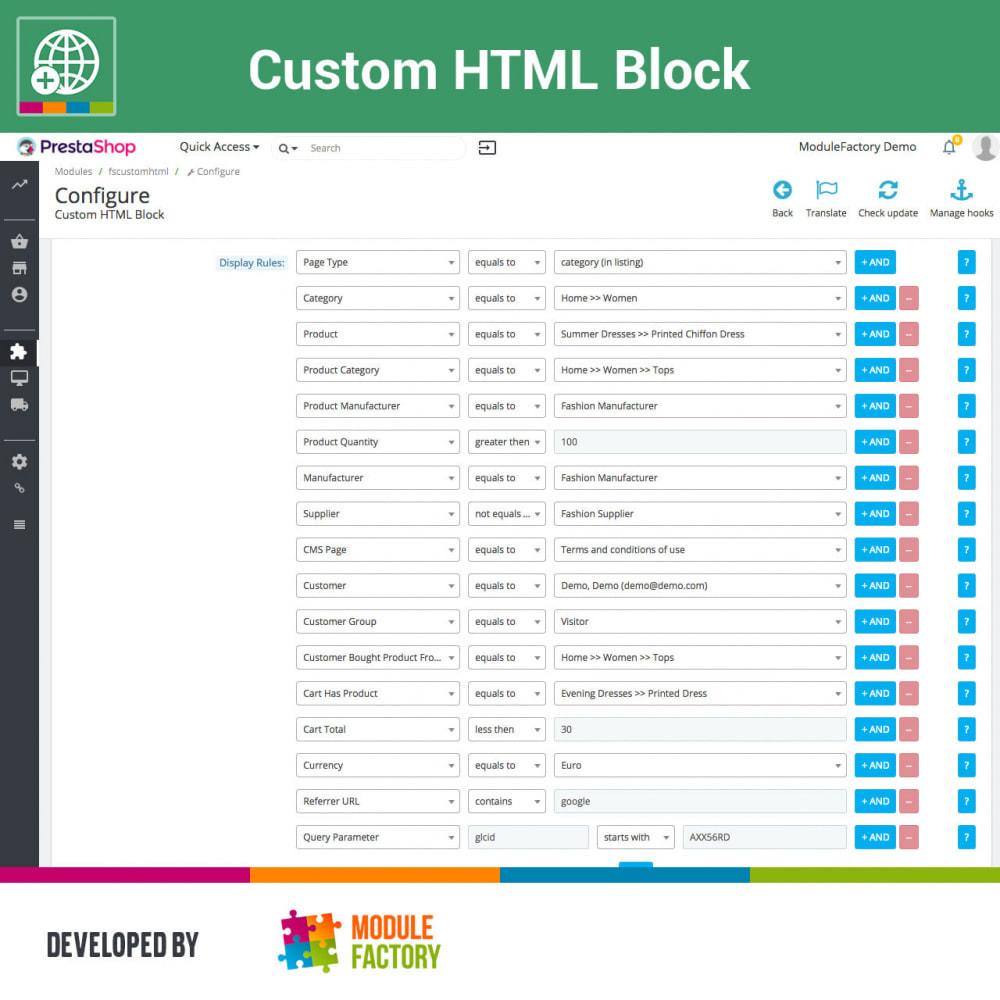 module - Blocks, Tabs & Banners - Custom HTML Block - 10