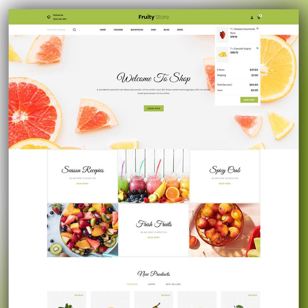 theme - Food & Restaurant - Fruity - Fruit Store - 3