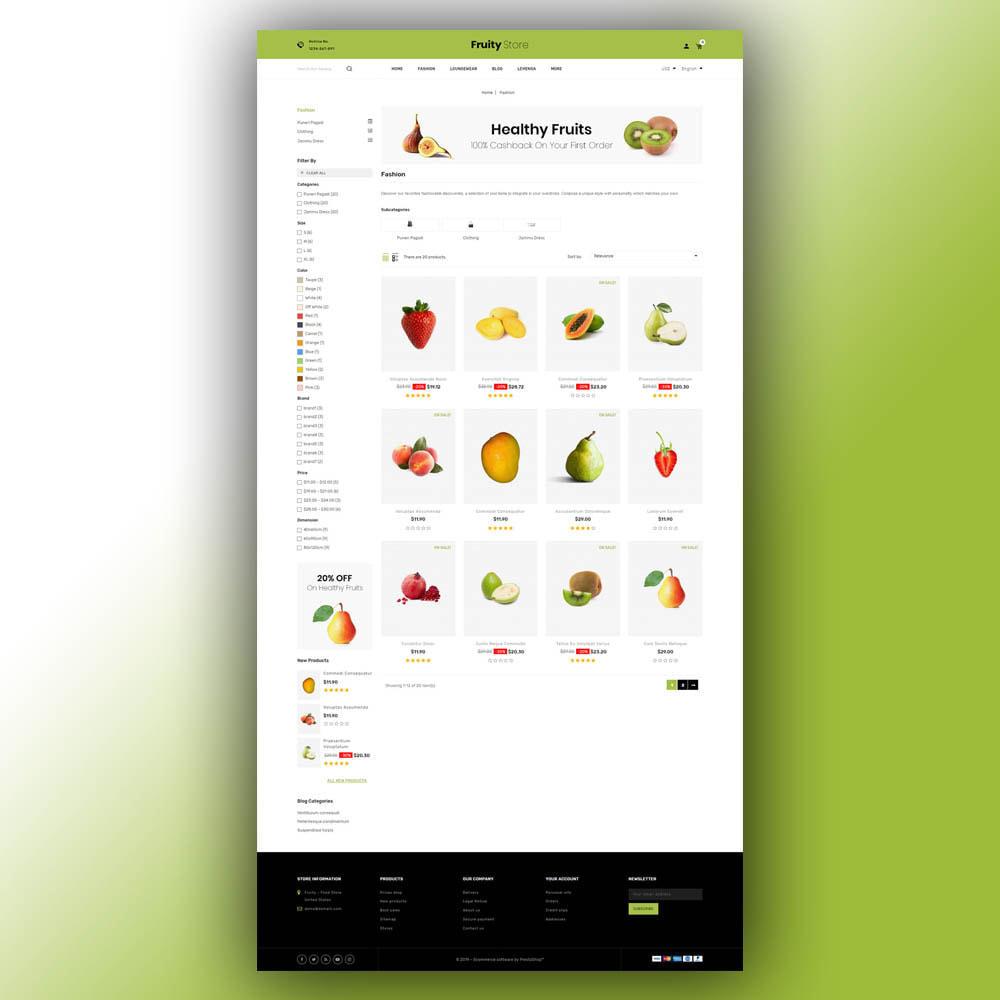 theme - Food & Restaurant - Fruity - Fruit Store - 4