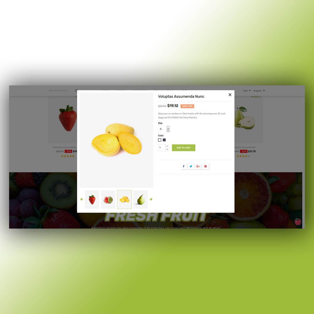 theme - Food & Restaurant - Fruity - Fruit Store - 8
