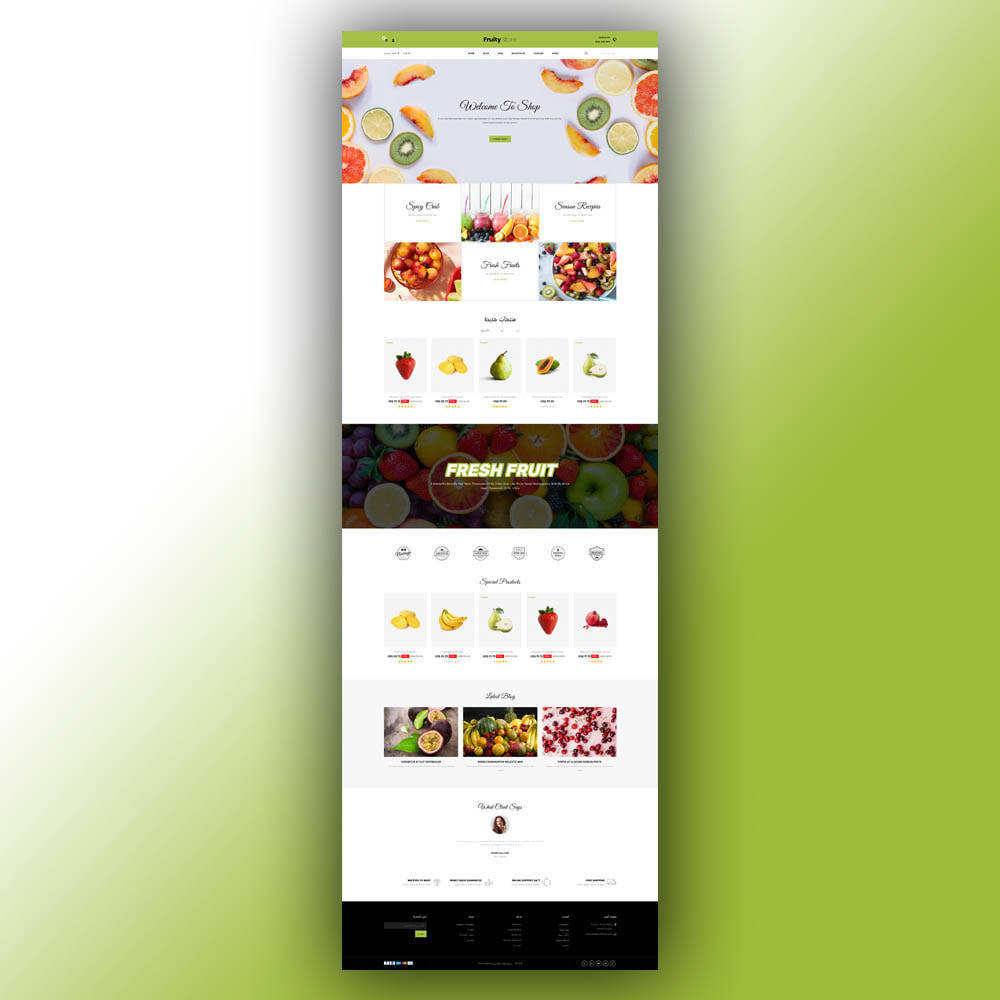 theme - Food & Restaurant - Fruity - Fruit Store - 9