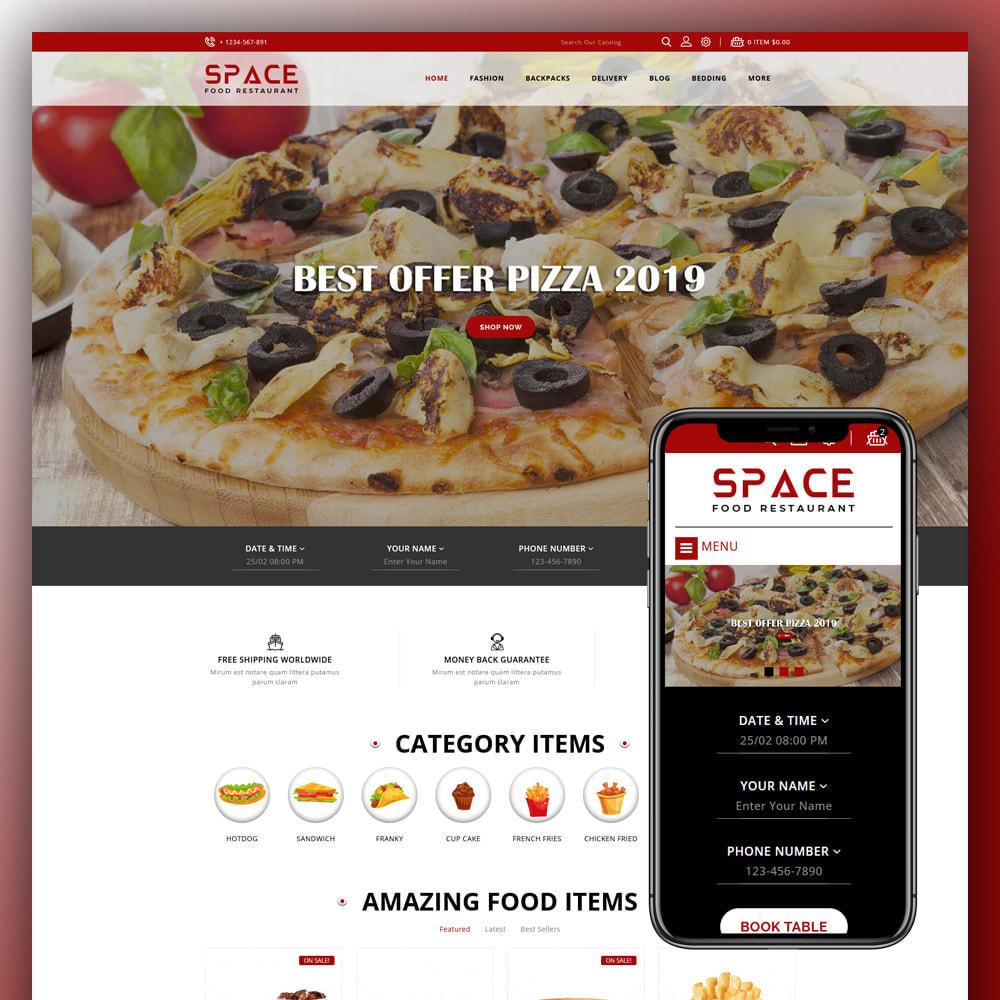 theme - Food & Restaurant - Space - Food Restaurant - 1