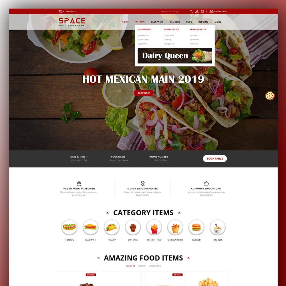 theme - Food & Restaurant - Space - Food Restaurant - 2