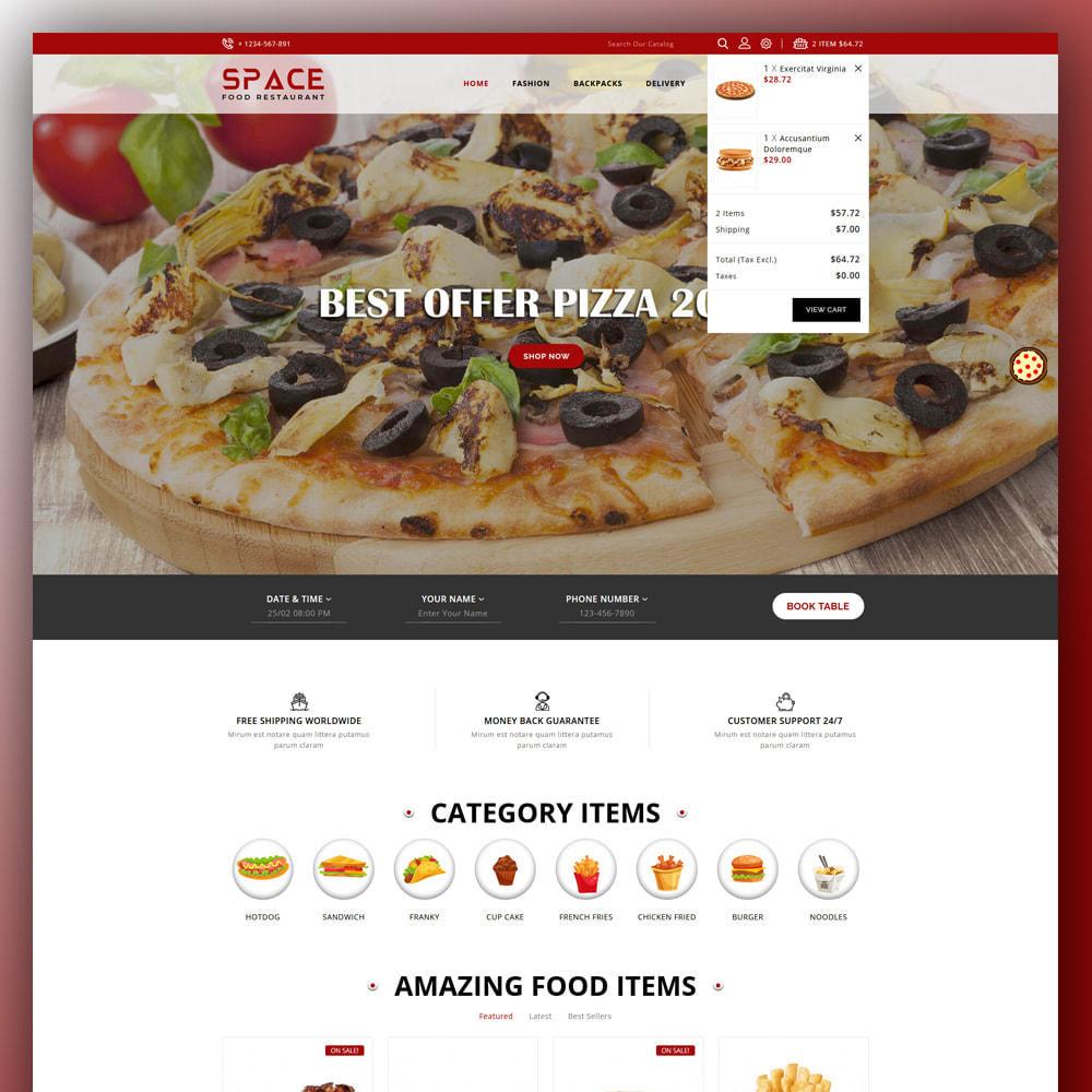 theme - Food & Restaurant - Space - Food Restaurant - 3