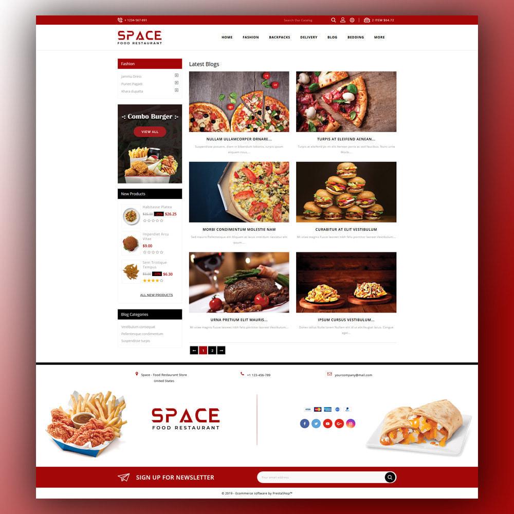 theme - Food & Restaurant - Space - Food Restaurant - 7