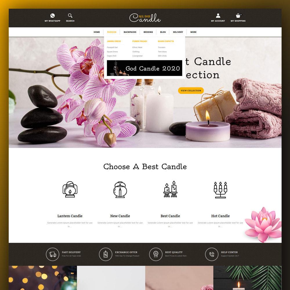 theme - Prezenty, Kwiaty & Uroczystości - All day Candle Store - 2