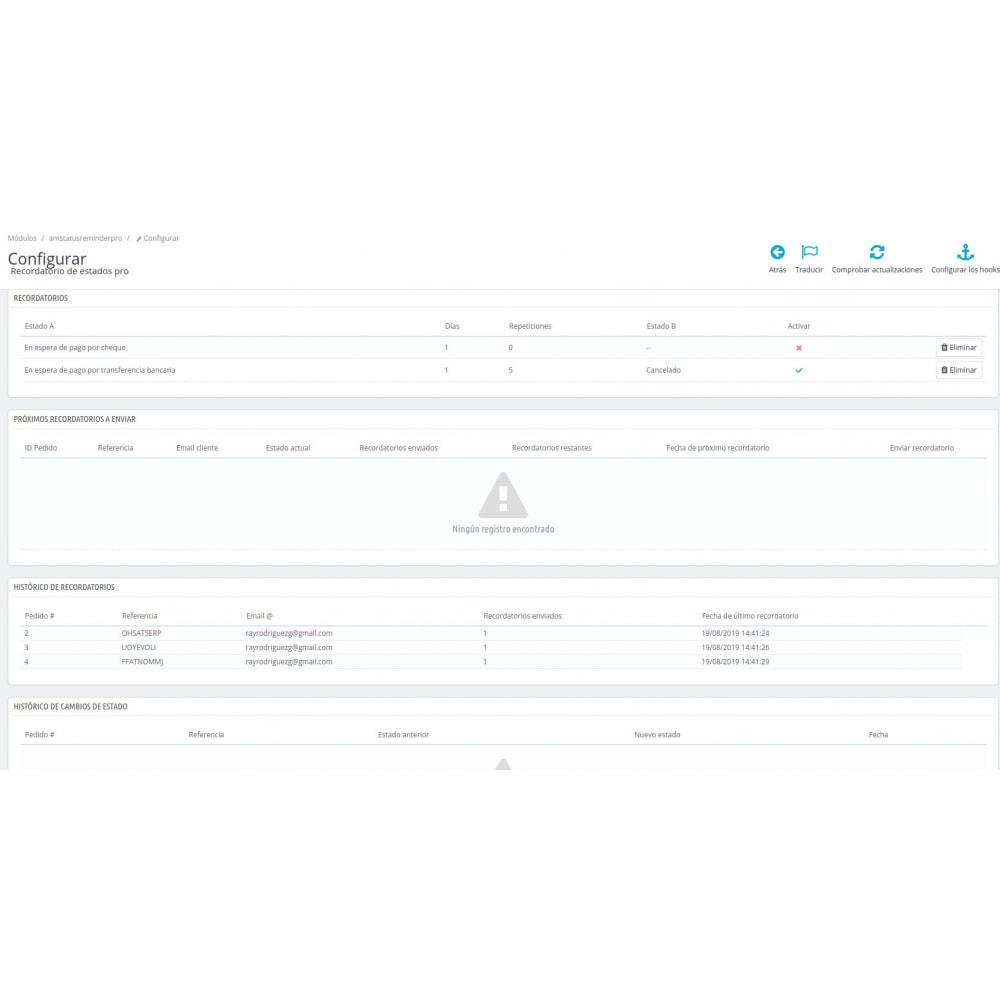 module - Gestión de Pedidos - Recordatorio de estados pro - 3